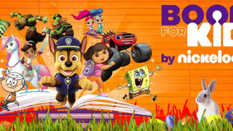 """Nickelodeon offre l'accès à  son service de livres numériques """"Books for kids"""" durant les vacances de Pâques"""