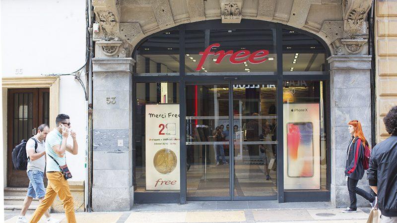 Free recherche un conseiller commercial boutique à Antibes dans les Alpes-Maritimes