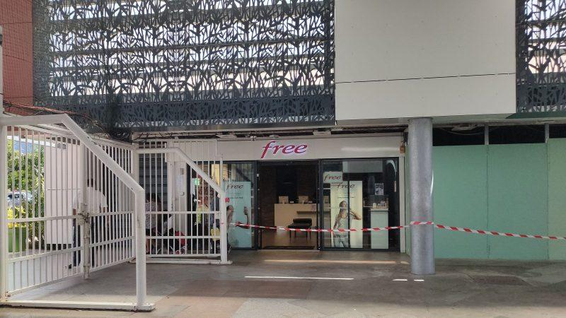COVID-19 certaines boutiques Free à La Réunion restent ouvertes pendant l'épidémie