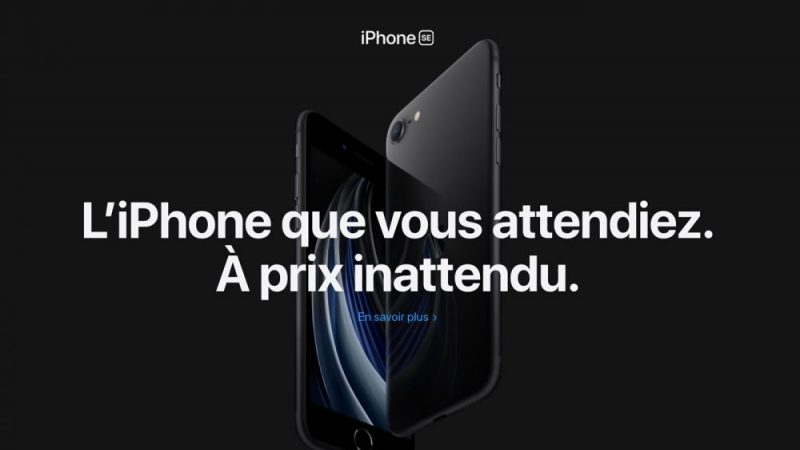Free Mobile : le nouvel iPhone SE au prix abordable débarque en précommande dans la boutique en ligne
