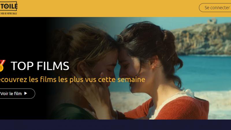 La Toile, la seule plateforme VOD en partenariat avec les cinémas regroupant plus de 400 films sortis récemment en salles