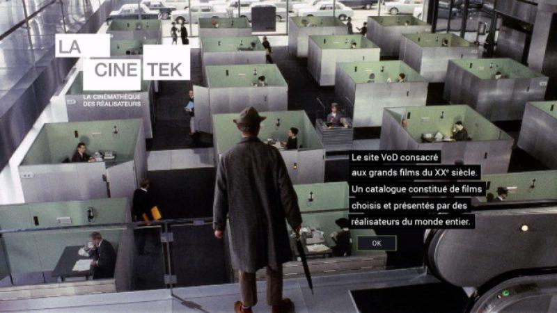 """Freebox : La Cinétek propose tous ses contenus en promo jusqu'au 15 avril pour """"supporter le confinement"""""""