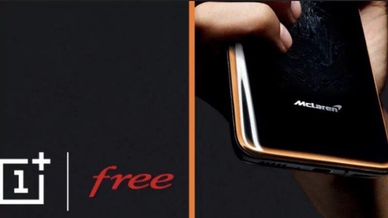 Free Mobile : les OnePlus 7T et 7T ProMcLarenEdition sont désormais disponibles à l'achat