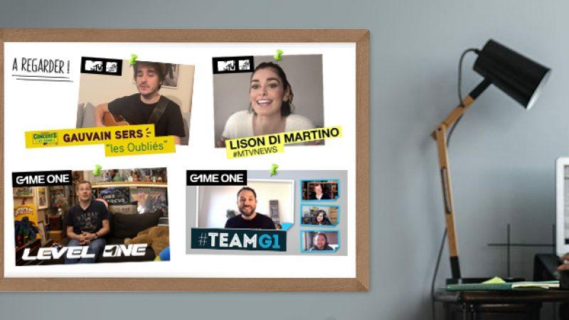Disponible sur les Freebox : MTV, MTV HITS et GAME ONE se mobilisent et déploient des dispositifs exceptionnels durant le confinement