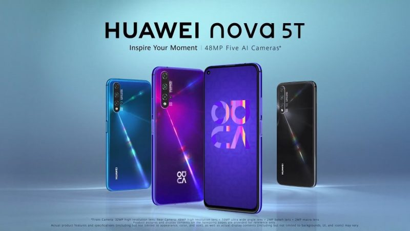 Free Mobile : un nouvel accessoire offert avec le Huawei Nova 5T, actuellement en promo
