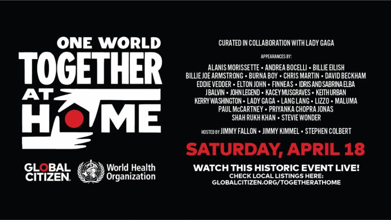 France 2 et CStar diffuseront le concert caritatif organisé par Lady Gaga et l'OMS pour la lutte contre le coronavirus