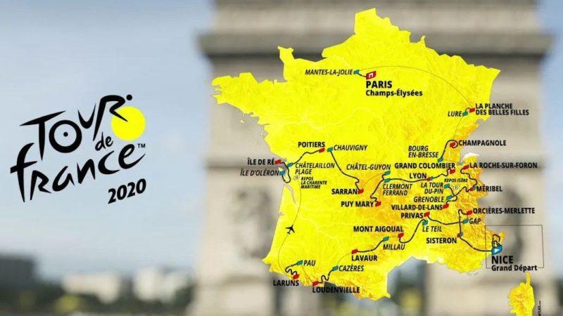 Le Tour de France 2020 officiellement reporté du 29 août au 20 septembre prochain