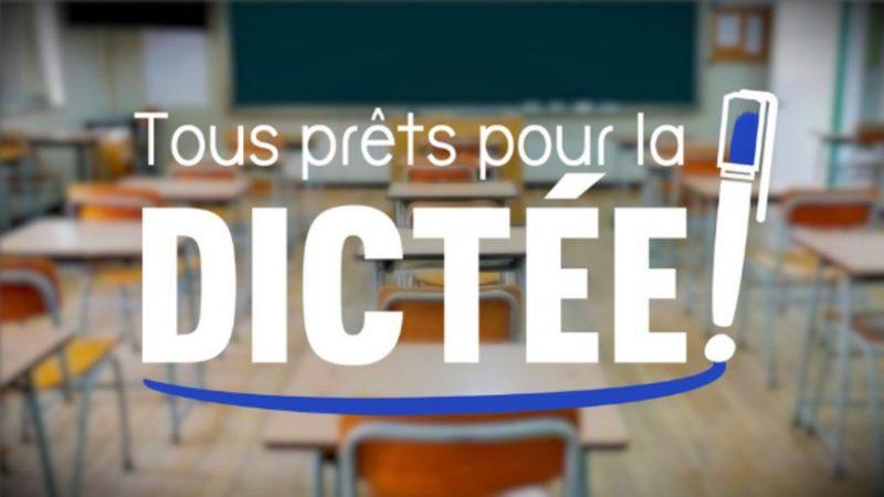 Préparez vos stylos, et prenez part à la plus grande dictée de France, avec Edouard Baer sur France 3 le 6 mai