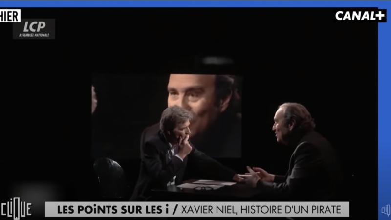 Clin d'oeil : la rhétorique du pirate Xavier Niel décortiquée sur Canal+