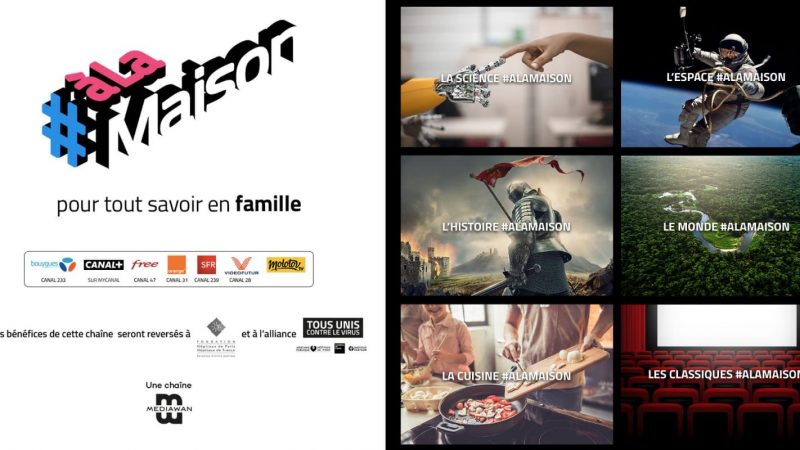 Freebox TV : la chaîne éphémère #Alamaison annonce poursuivre sa diffusion