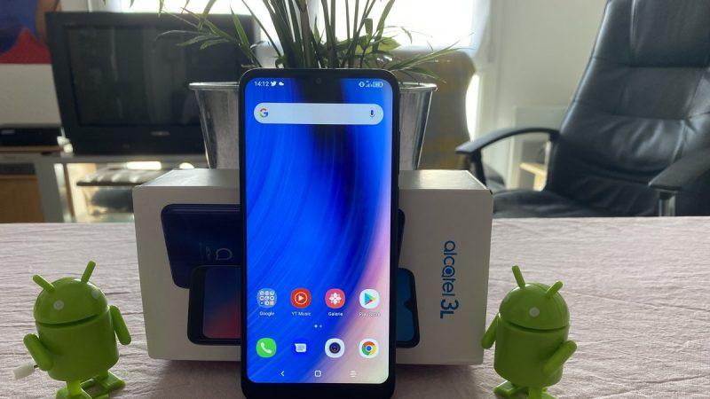 Test de l'Alcatel 3L (2020) : que vaut ce smartphone à petit prix disponible dans la boutique de Free ?