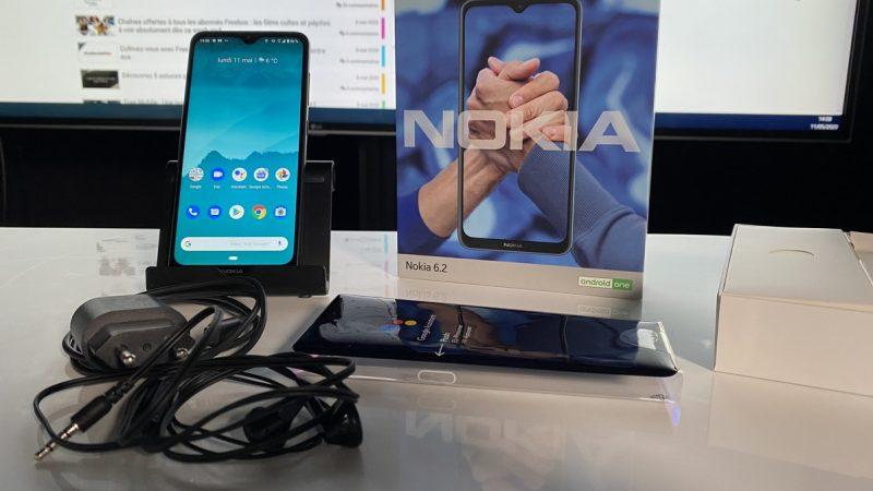 Nokia 6.2 : le smartphone disponible dans la boutique de Freetesté par Univers Freebox