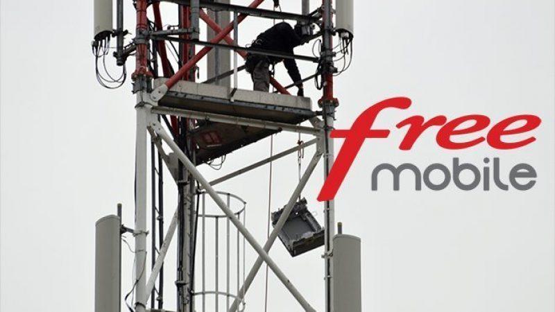 En images : l'installation spectaculaire d'une antenne 4G par Free Mobile en pleine montagne
