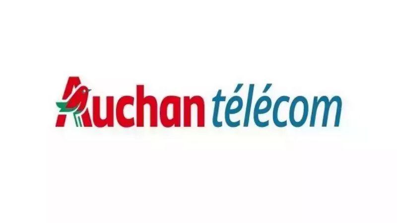 Auchan Telecom propose un forfait mobile 40 Go en promotion à 4,99 euros par mois