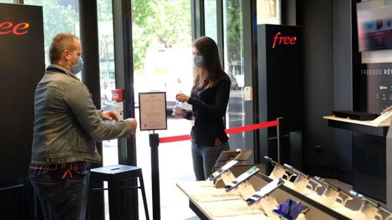 Réouverture réussie pour les boutiques Free Centers