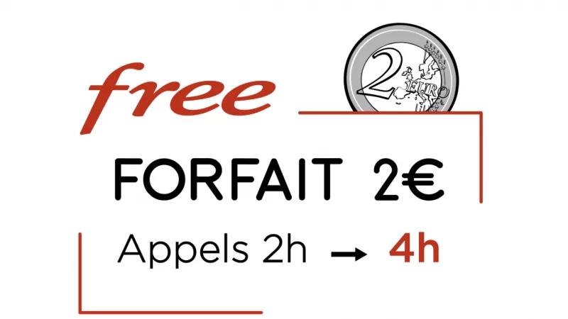 [MàJ] Le forfait à 2€ enrichi de Free Mobile joue encore les prolongations