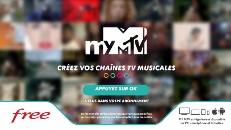 Le service interactif myMTV vient d'arriver gratuitement pour tous sur la Freebox : découvrez son fonctionnement en détail