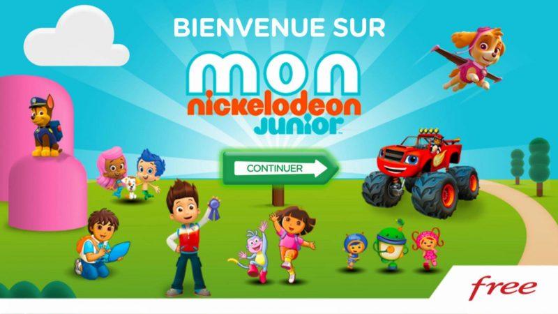 Découvrez Mon Nickelodeon Junior, le nouveau service interactif gratuit fraîchement arrivé pour tous sur la Freebox