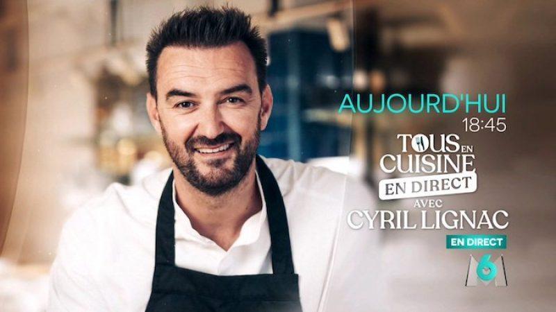"""M6 : Cyril Lignac dit au revoir à """"Tous en cuisine"""""""