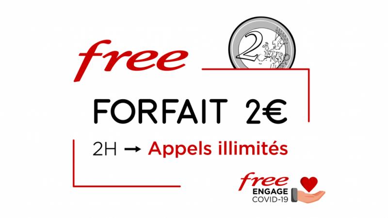 Clap de fin pour les appels illimités sur le forfait 2€ de Free Mobile