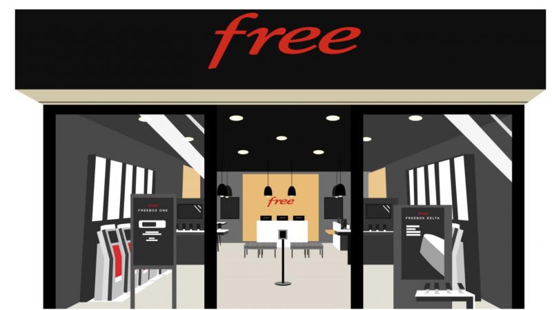 Free annonce l'ouverture demain de son 88e Free Center