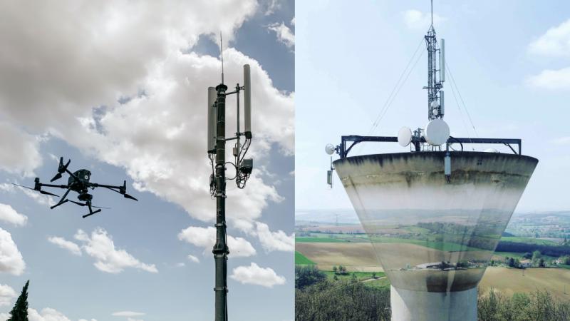 Free investit dans le leader des services par drone pour les télécommunications