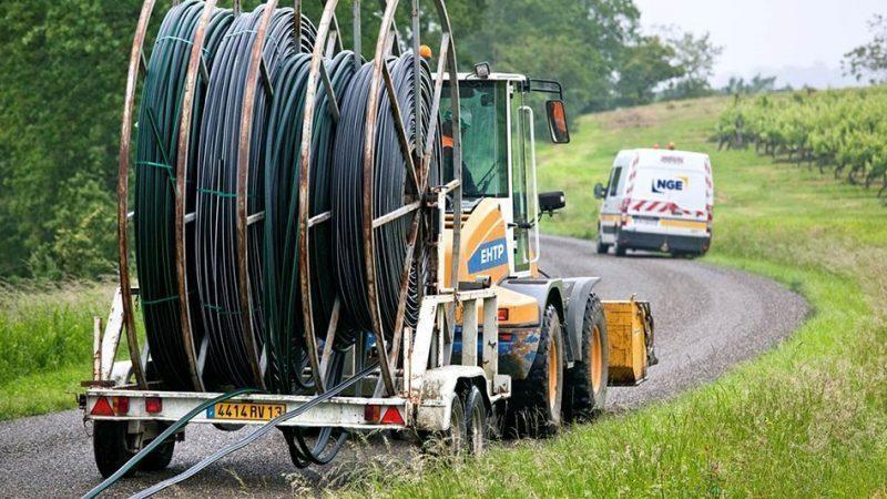 Fibre optique : un retard de déploiement d'1 million de lignes en 2020, la faute à la crise