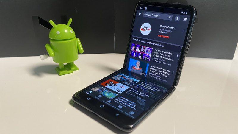 Galaxy Z Flip : le smartphone pliable nouvelle formule de Samsung testé par Univers Freebox