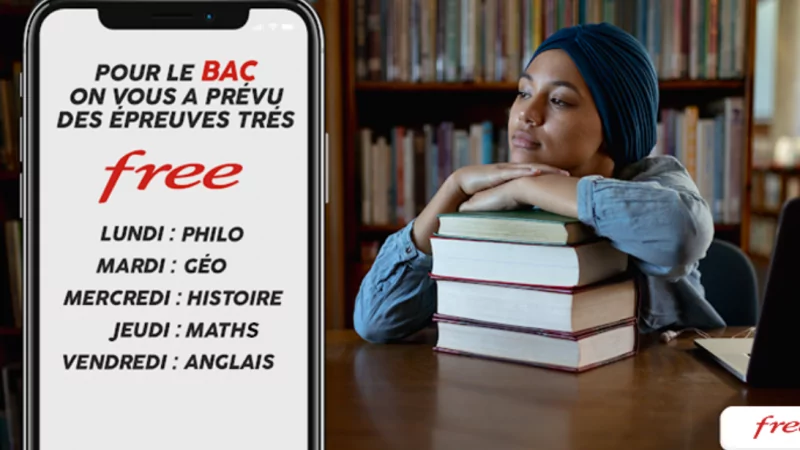 Free vous fait passer le bac : épreuve de traduction libre, to be Free or not to be  ?