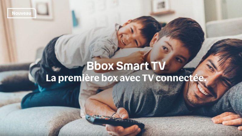 Bouygues Telecom lance son offre Bbox Smart TV avec une box dématérialisée , découvrez-la