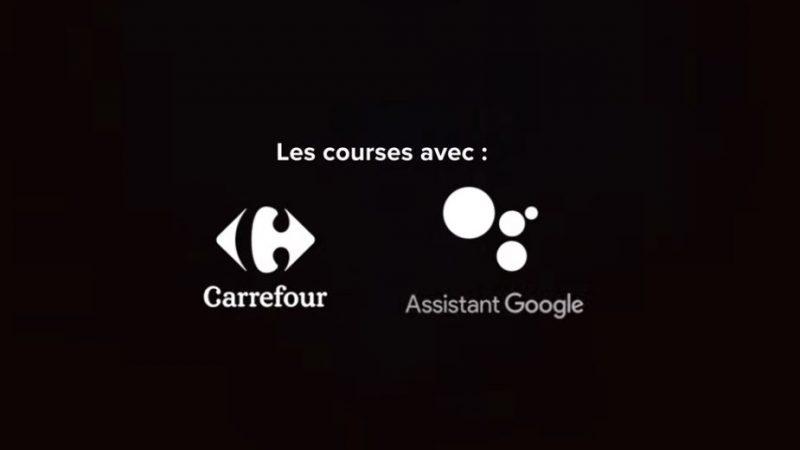 """Google assistant lance les courses à la voix avec Carrefour, une """"première mondiale"""""""