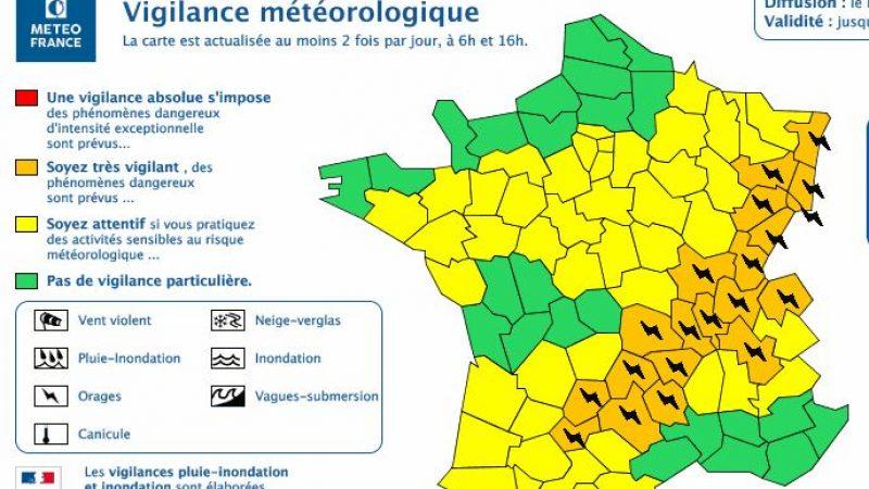 Alerte orages dans 20 départements: les conseils pour protéger votre Freebox