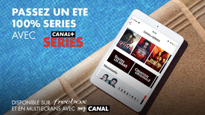 """Canal+ fait sa pub auprès des abonnés Freebox pour """"un été sans limite"""""""