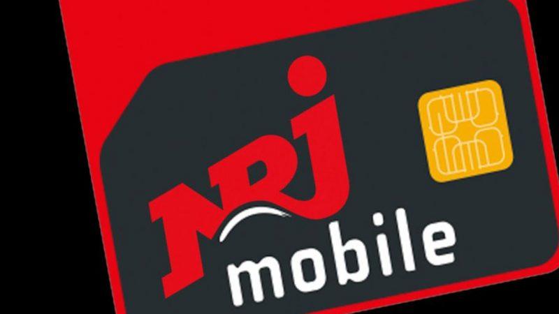 NRJ Mobile propose un forfait 60Go à 4,99€ par mois sans engagement