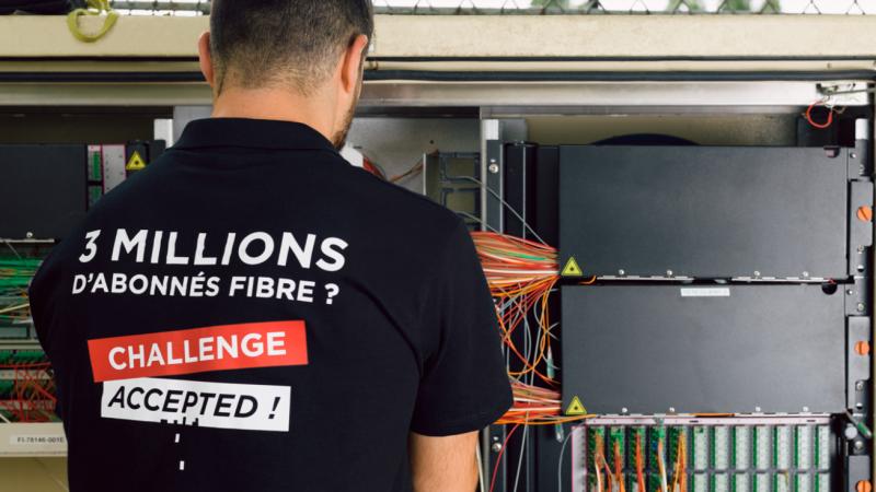Objectif 1 million de nouveaux abonnés fibre en 1 an : Free a déjà fait 1/4 du chemin en quelques semaines