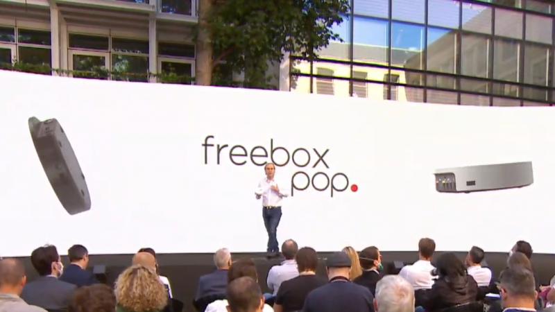 La Freebox POP, super rapide, propose un débit de 5 Gbps partagés