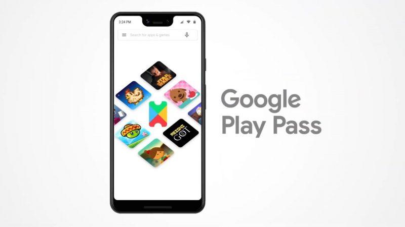 Le Google Play Pass disponible en France pour 4,99€ par mois