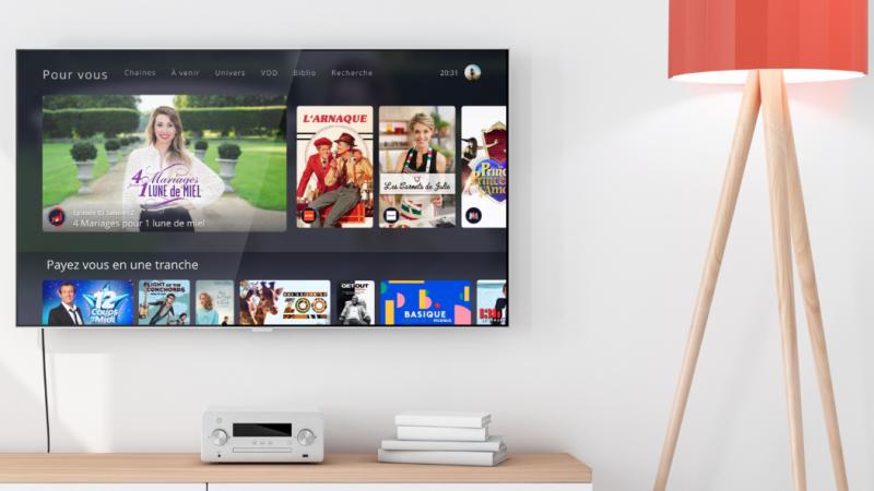 Découvrez les autres rubriques de l'interface TV Freebox Pop : Replay, Mosaïque, Guide TV et App