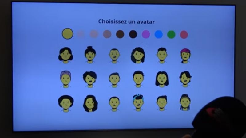 Découvrez la création de profils et d'avatars sur l'interface TV de la Freebox Pop