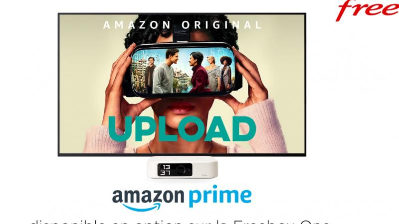 Free lance l'option Amazon Prime (Prime Vidéo, music, etc.) dans son offre Freebox One