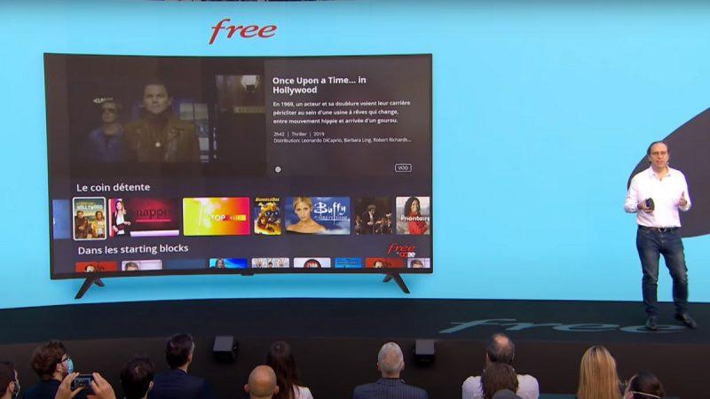 Le player de la Freebox Pop utilise bien Android TV