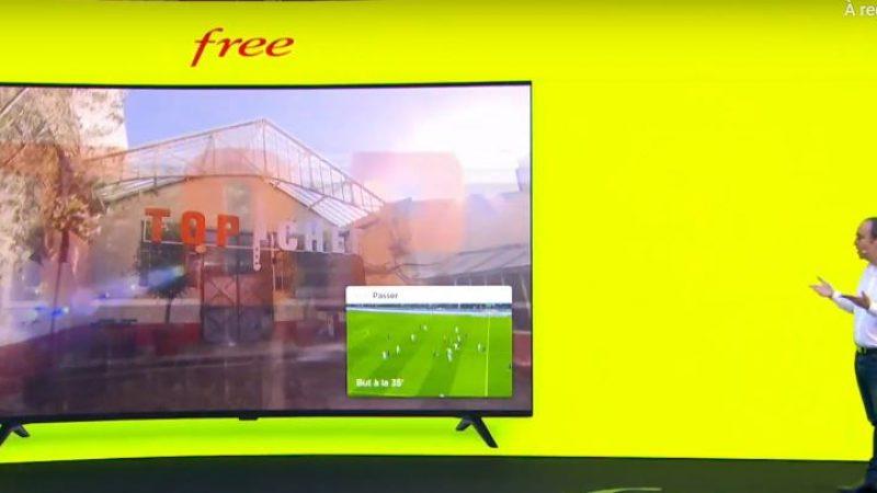 Free officialise son application Free Ligue 1, incluse dans la Freebox Pop