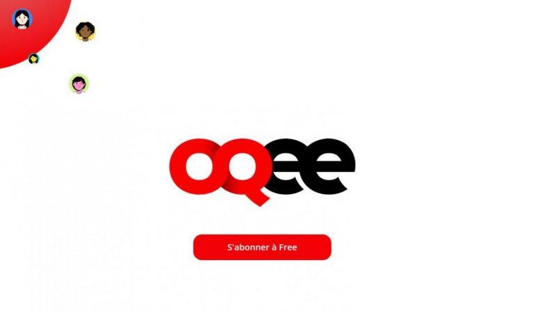 Free lance le site oqee.tv, consacré au nouveau service de télévision de la Freebox Pop