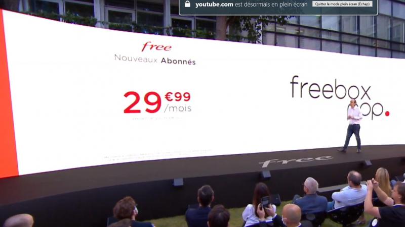 Free dévoile le prix top de sa nouvelle Freebox POP, sans engagement