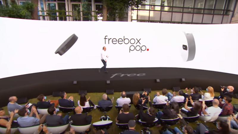 Xavier Niel vante les mérites de sa Freebox POP sur Twitter