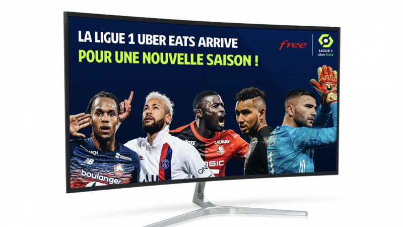 Free Ligue 1 Uber Eats s'invite sur Instagram
