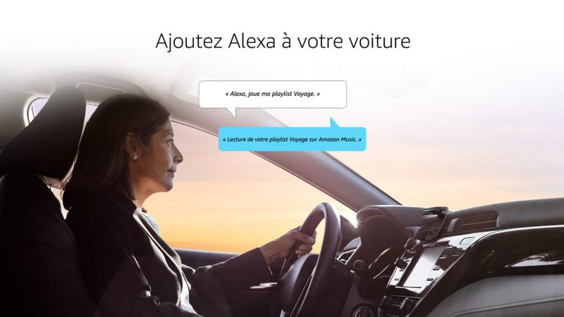 Amazon : Alexa partout avec vous grâce à l'Echo Auto