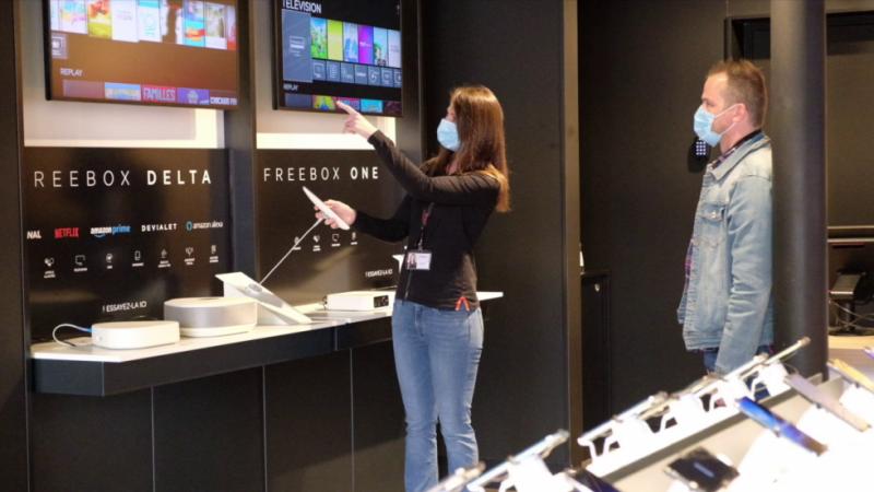 Free ne s'arrête plus dans le déploiement de son réseau de boutiques, le 94e Free Center ouvre ses portes