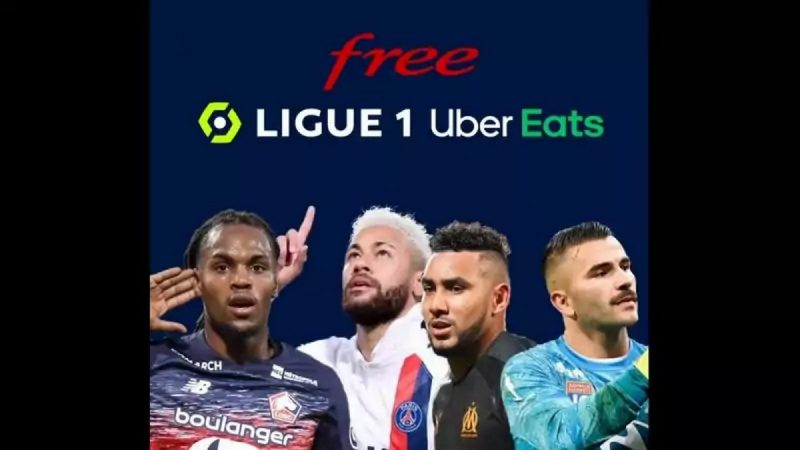 Freebox Pop : l'application Free Ligue 1 Uber Eats apparaît désormais dans l'interface TV