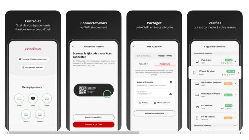 Freebox Connect : la nouvelle application de gestion simplifiée du Wi-Fi se met à jour